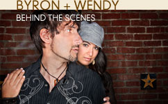 Byron + Wendy: Behind the Scenes